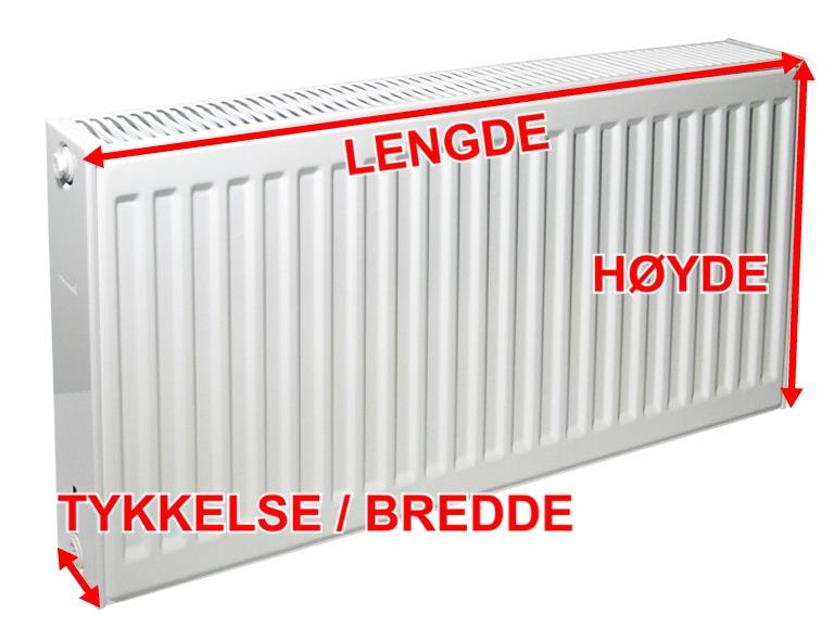 Luft til vann varmepumpe radiator