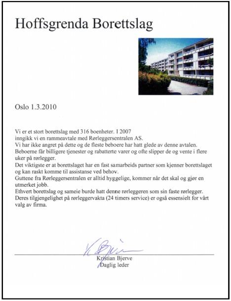 Hoffsgrenda rammeavtale