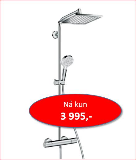 Hansgrohe Crometta Showerpipe