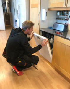 Opplegg for oppvaskmaskin pris